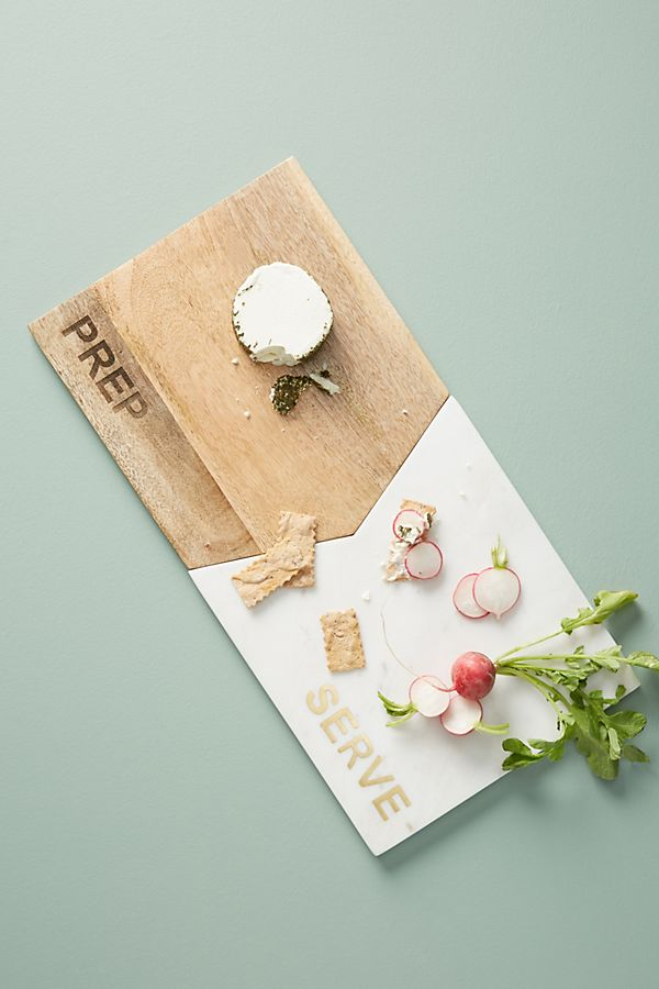Interlocking Prep + Serve Board | Anthropologie