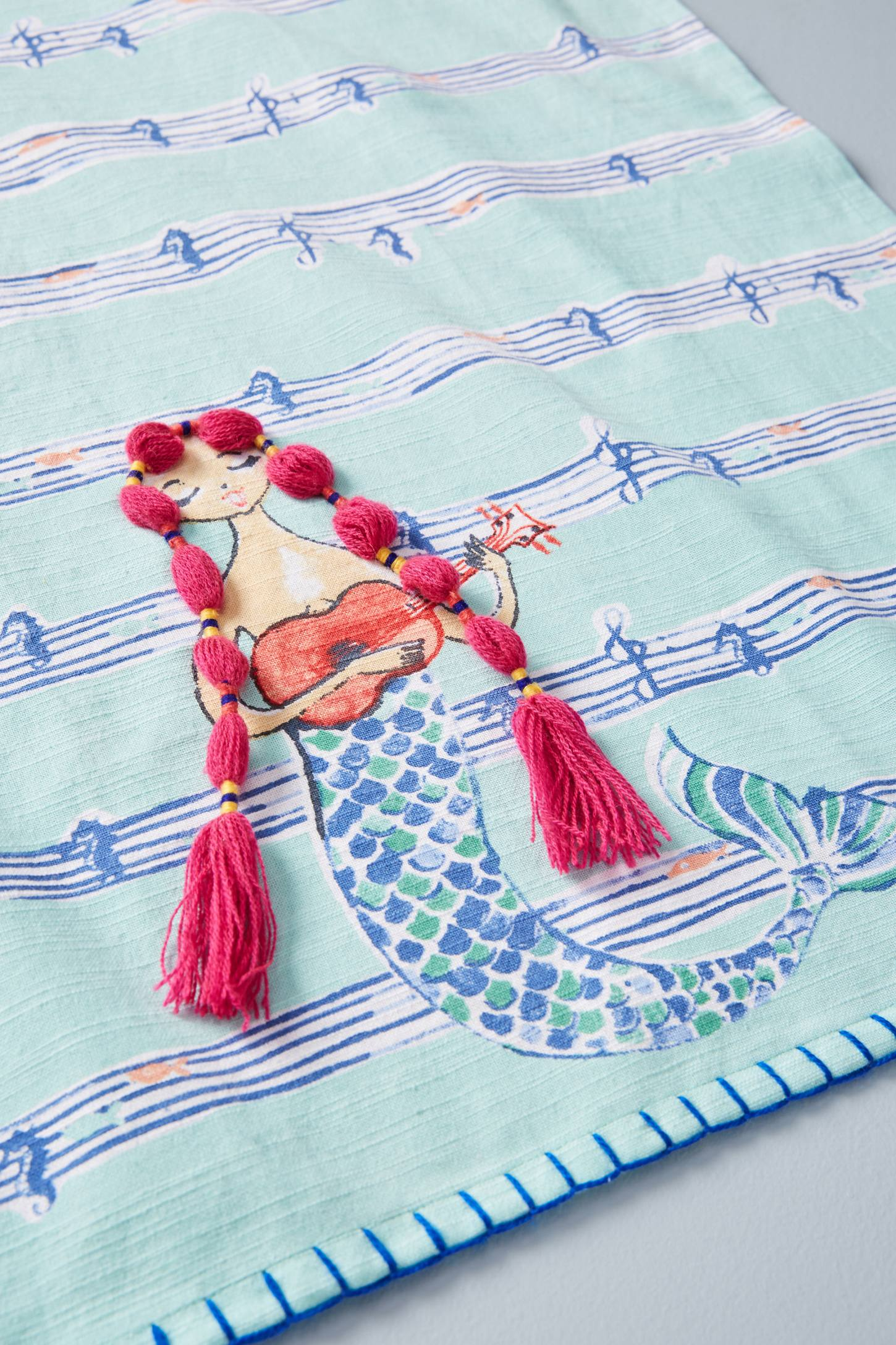 Mermaid Dish Towel | Anthropologie