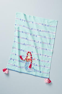 Slide View: 1: Mermaid Dish Towel