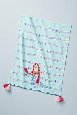 Slide View: 1: Mermaid Dish Towel
