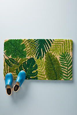 Slide View: 1: Palm Doormat