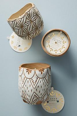 Slide View: 7: Knotworks LA Etched Ceramic Candle