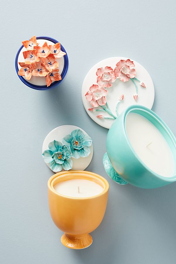 Blossom Candle | Anthropologie