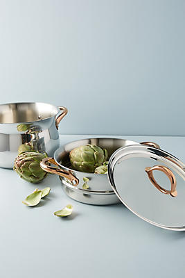 Slide View: 1: BergHOFF Ouro Gold 11-Piece Cookware Set
