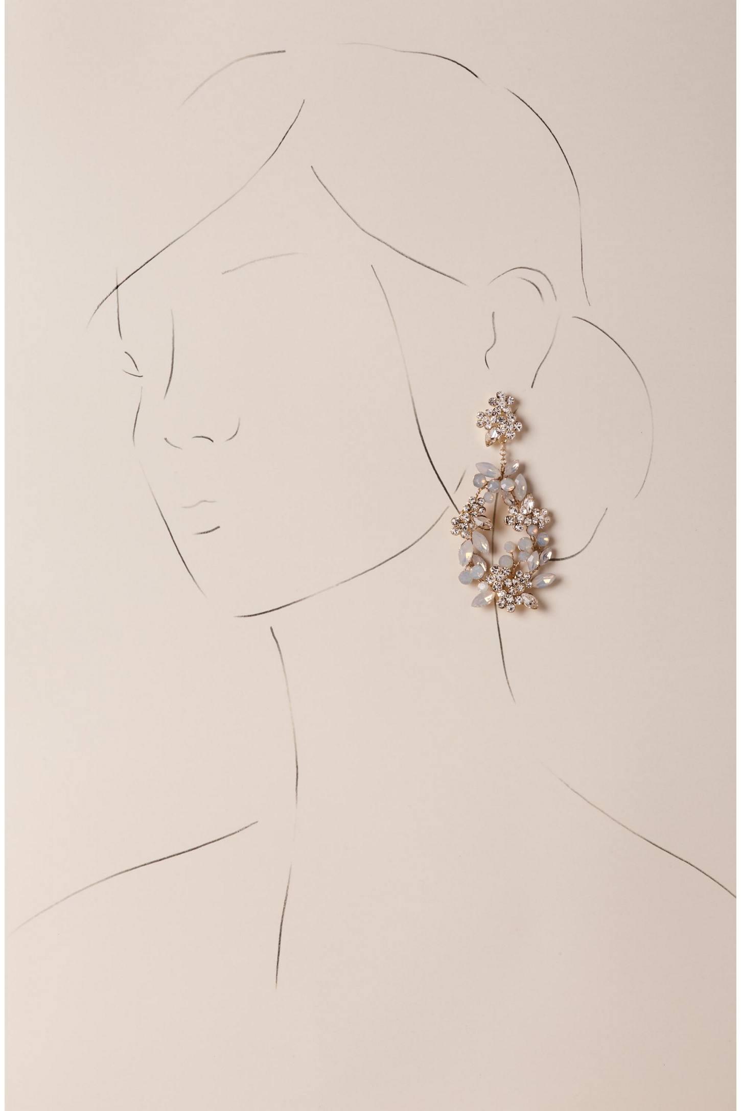 Anthropologie Kora Chandelier Earrings oujit5X00