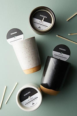 Slide View: 2: Norden Ceramic Candle