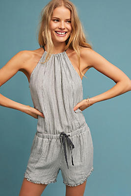 Slide View: 1: Cloth & Stone Susanna Romper