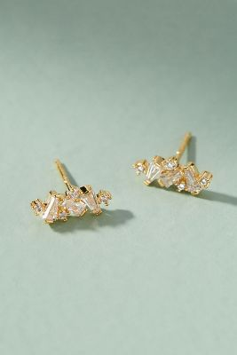 Desire Post Earrings  -    CLEAR