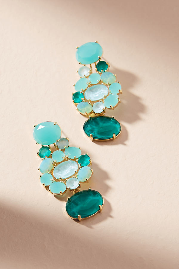Leora Post Earrings - Turquoise