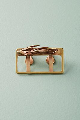Slide View: 1: Golden Place Card Holder