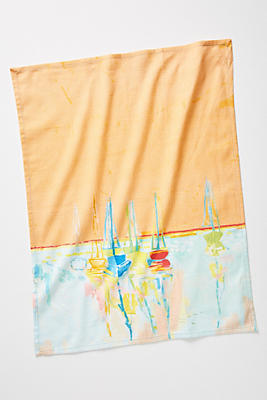 Slide View: 1: Sunscene Dish Towel