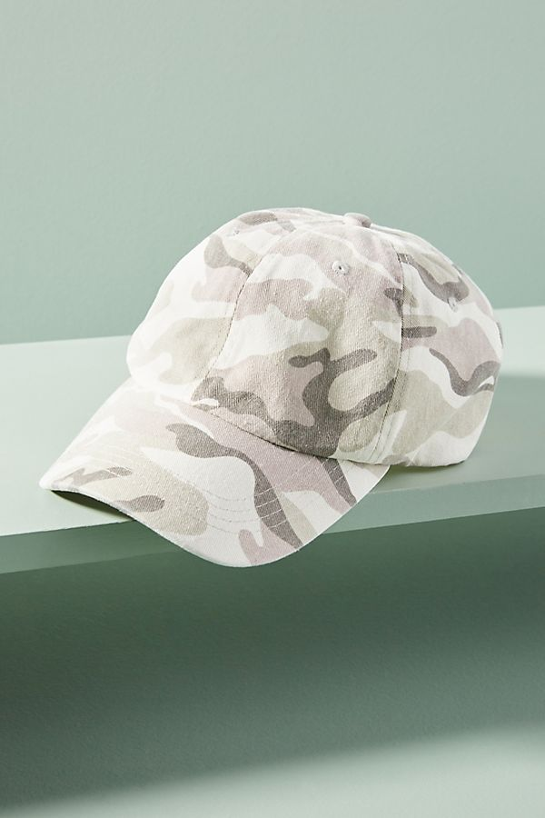 Camo Baseball Cap | Anthropologie