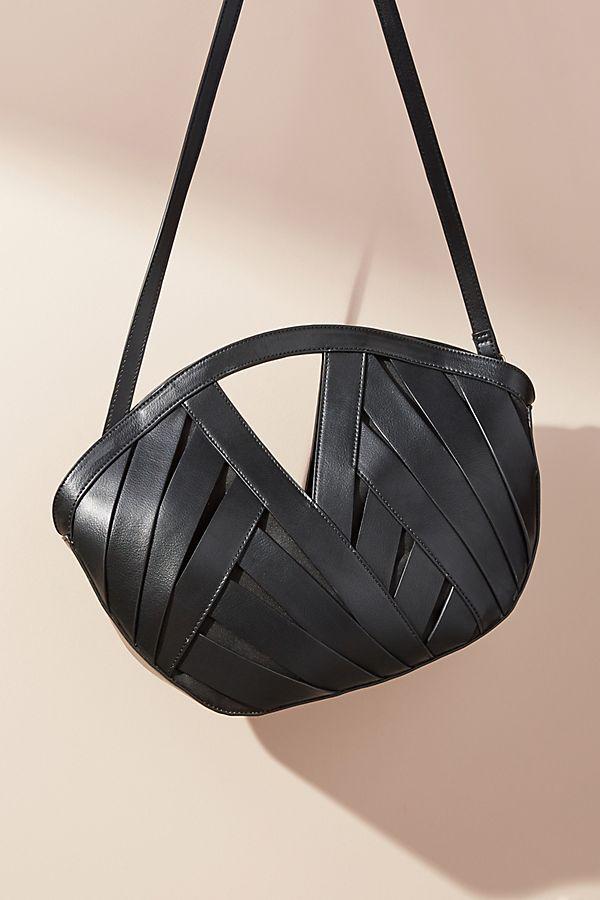 Slide View 1 Pee Woven Basket Bag
