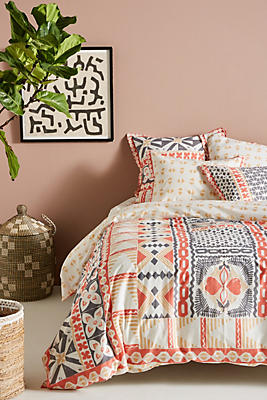 Slide View: 1: Simone Duvet Cover