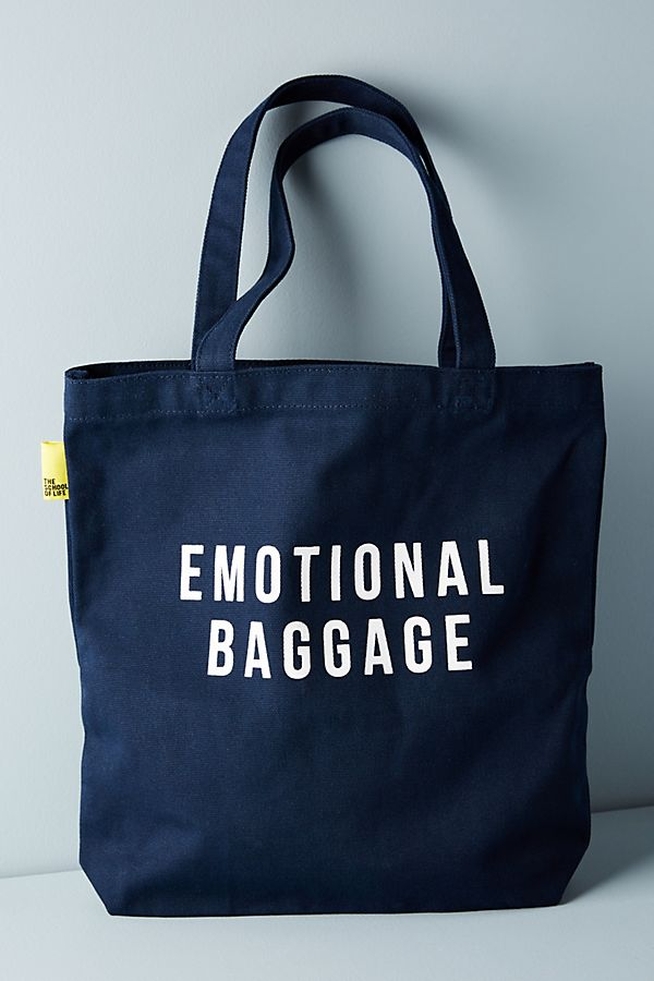 Slide View 1 The School Of Life Emotional Baggage Tote
