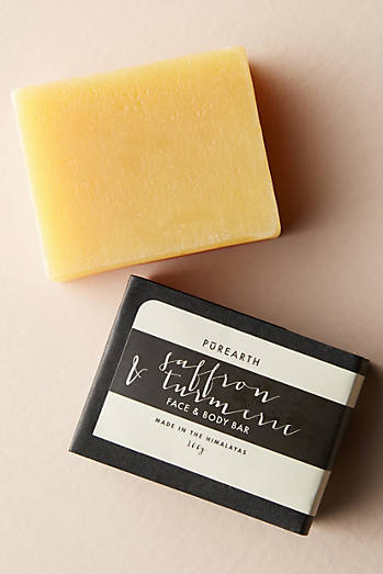 Purearth Purifying Saffron & Turmeric Face & Body Bar