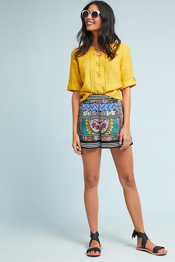 Wynnewood Printed Shorts - Assorted, Size L