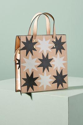 Ann Howell Bullard   Ann Howell Bullard Starry Square Bag  -    BLACK