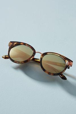 Tortoise Cat-Eye Sunglasses  -    BROWN MOTIF