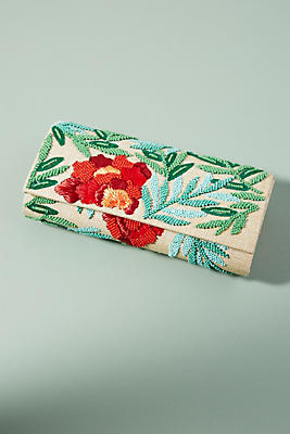 Slide View: 1: Spring Garden Clutch