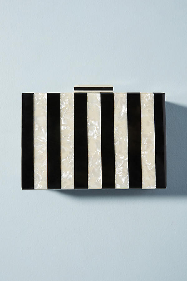Slide View: 2: Pochette en lucite Piano