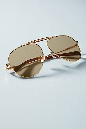Sonix Nara Aviator Sunglasses