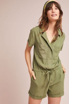 Cadet Waisted Romper by Sanctuary