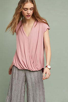 Slide View: 1: Clarissa Wrap Top