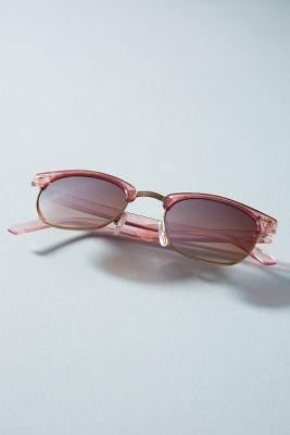 Eve Sunglasses  -    Crystal Light Pink