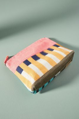 EPICE   Brigette Striped Pouch  -    PINK