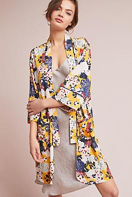 Slide View: 1: Gladys Floral Kimono