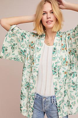 Slide View: 1: Reece Floral Kimono
