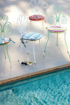 Slide View: 5: Filigree Indoor/Outdoor Chair