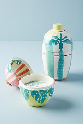 Slide View: 3: Sunlit Ceramic Candle