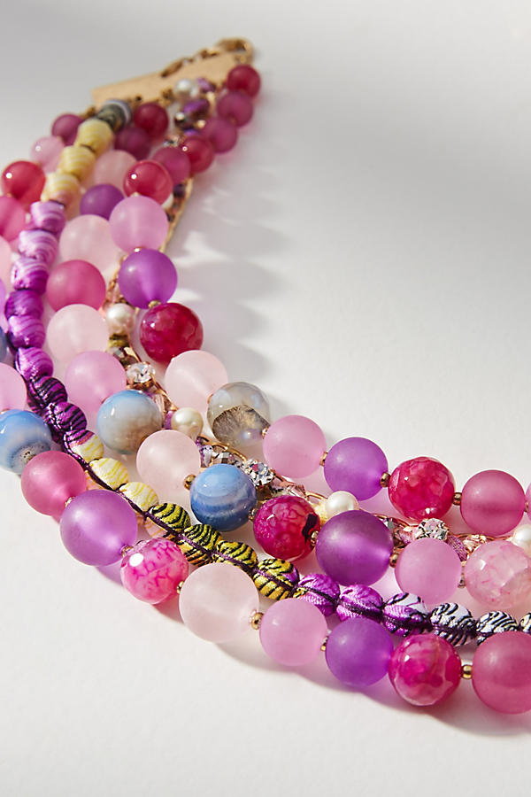 Slide View: 2: Bernice Layered Necklace