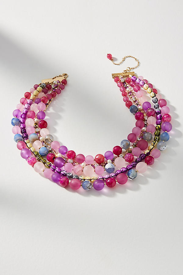 Slide View: 1: Bernice Layered Necklace