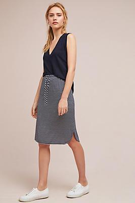 Slide View: 1: Striped Knit Skirt