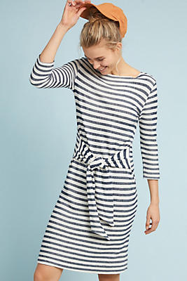 becky tie waist dress anthropologie