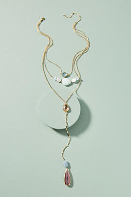 Anthropologie Mira Layered Y-Necklace 4RzKri