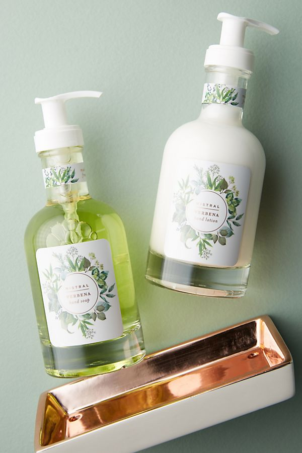 Mistral Hand Soap + Lotion Caddy | Anthropologie