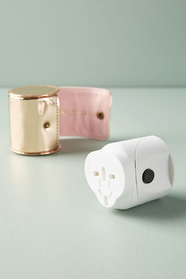 Rose Gold Travel Adaptor