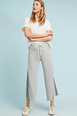 Slide View: 1: Cloth & Stone Striped Terry Sweatpants