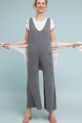 Cloth & Stone   Cloth & Stone Heather Jumpsuit  -    DARK GREY