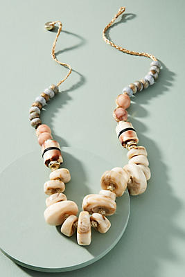 Anthropologie Beach Day Necklace OcYZhcD7F