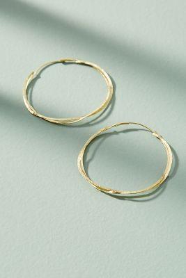 Dominque Hoop Earrings  -    GOLD