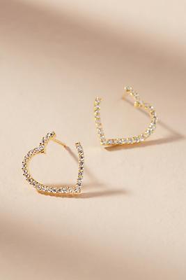 Anthropologie Heartbreaker Earrings rUa0axeyaR