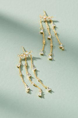 Elodie Chandelier Earrings  -    GOLD
