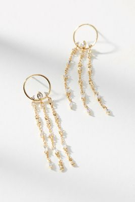 Melia Chandelier Earrings  -    GOLD