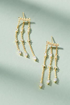 Anthropologie Lita Chandelier Earrings fWdpJ6wjSU