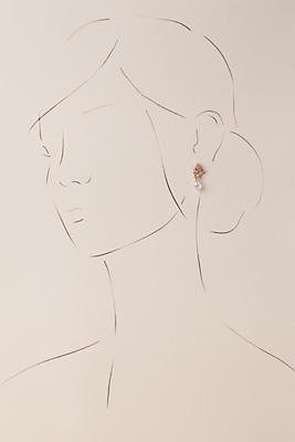 Anthropologie Paola Drop Earrings Px1l8c